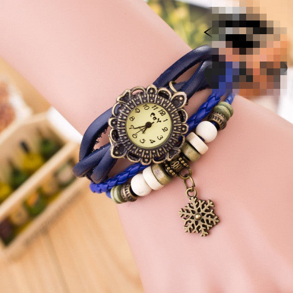 Fashion Snowflake Multilayer Watch - Oh Yours Fashion - 3
