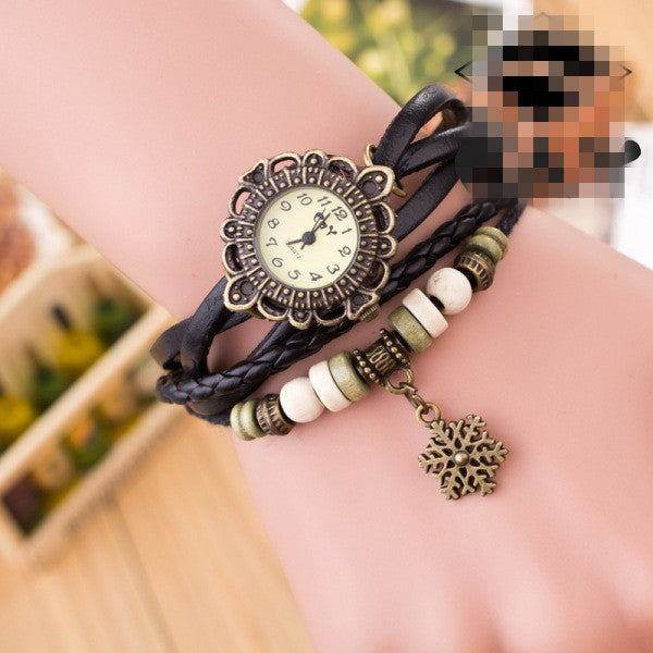 Fashion Snowflake Multilayer Watch - Oh Yours Fashion - 2