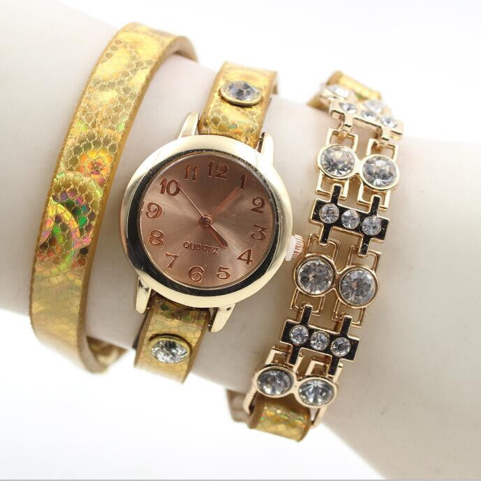 Personality Crystal Patchwork Watch - Oh Yours Fashion - 5