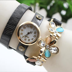 Bright Skin Three Flower Watch - Oh Yours Fashion - 6