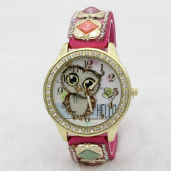 Cute Owl Square Gems Watch - Oh Yours Fashion - 3