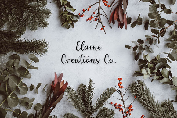 Elaine Creations Co. Holiday Gift Cards