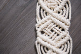 Macrame Luggage Tags
