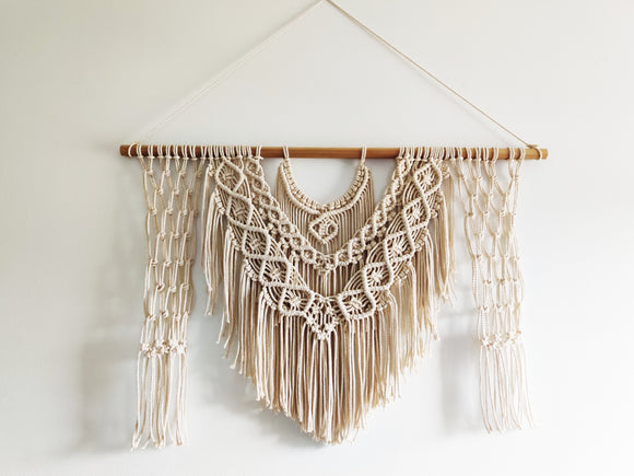 Diamond Beauty Macrame Decor | Wall Hanging