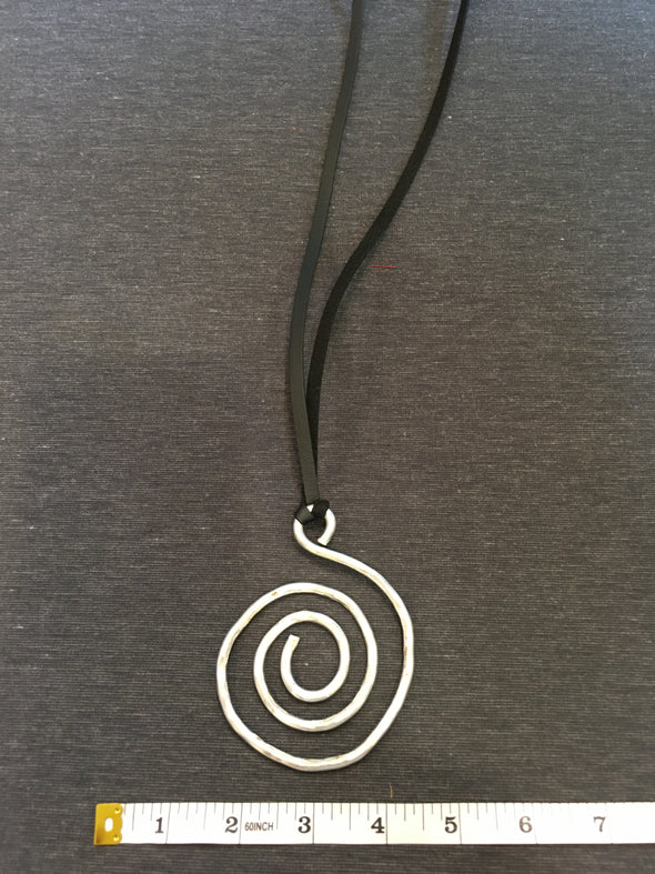 RECYCLED ALUMINUM NECKLACE -09