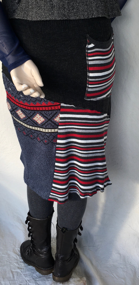 SWEATER SKIRT MEDIUM  # 06
