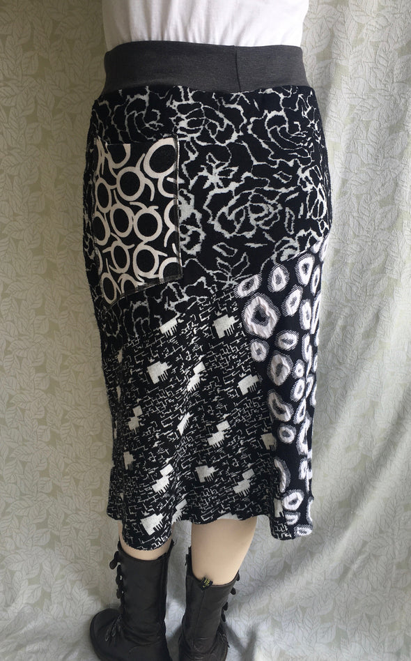 SWEATER SKIRT LARGE   #01