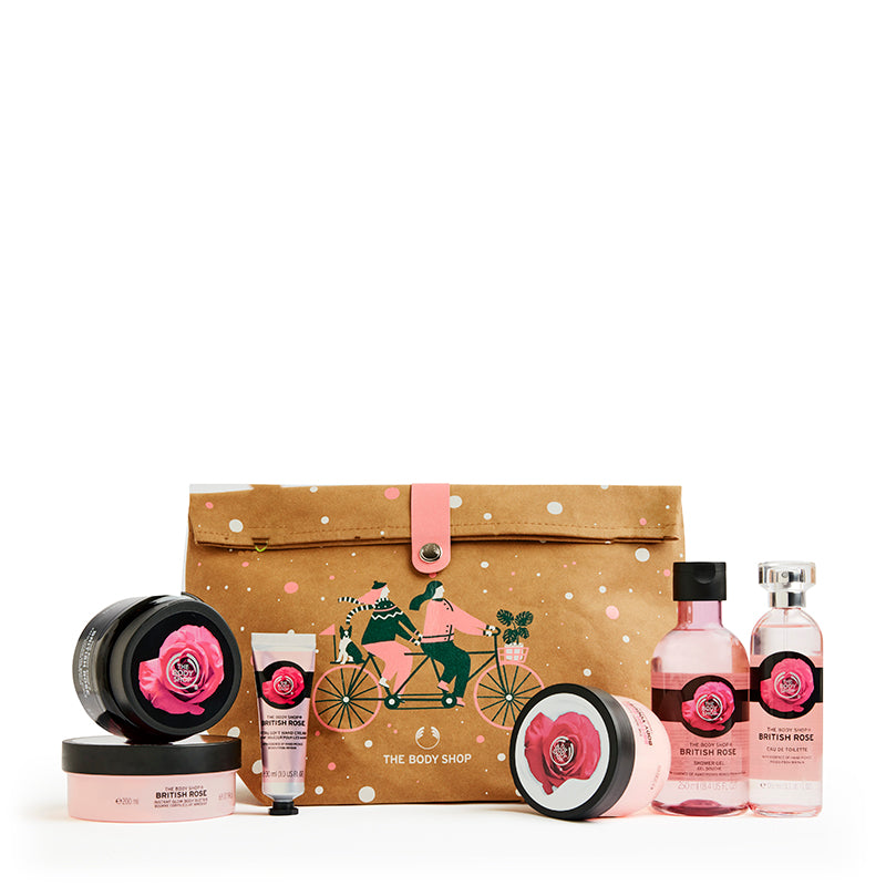 Glowing British Rose Ultimate Gift Bag