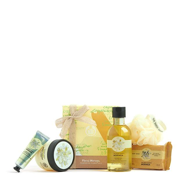 Floral Moringa Pampering Essentials