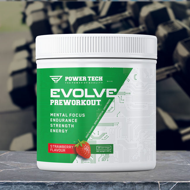Evolve Preworkout Power Tech | 400 grame