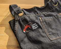 Little Metal Foxes Denim Apron