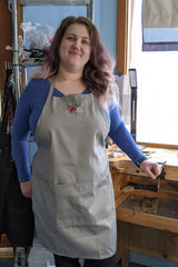 Little Metal Foxes Apron