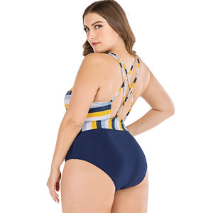 Candy Wrap One Piece Swimsuit