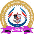 British Journal of Medical and Health Research (BJMHR) logo