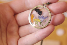 Load image into Gallery viewer, Honey Bee Botanical Necklace