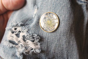 Queen Anne's Lace Pin