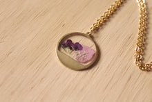 Load image into Gallery viewer, Larkspur & Alyssum Mini Necklace
