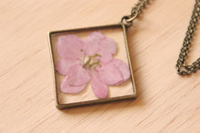 Load image into Gallery viewer, Diamond Larkspur Necklace