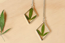 Load image into Gallery viewer, Silver Maryjane Diamond Necklace