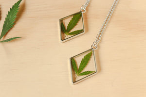 Silver Maryjane Diamond Necklace