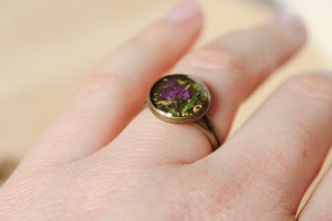 Maryjane Antique Bronze Ring
