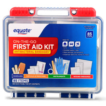 Load image into Gallery viewer, First Aid Kit, 85 Items, 2 Pack