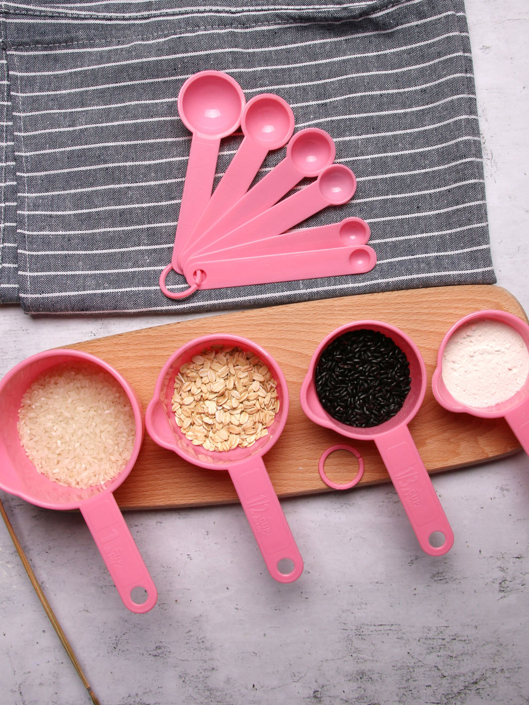 Solid Measuring Spoon 10pcs