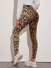 Load image into Gallery viewer, SHEIN Sport Graphic Leopard Print Leggings