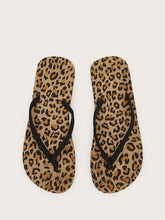 Load image into Gallery viewer, Leopard Flip Flops