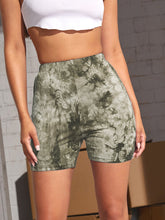 Load image into Gallery viewer, Tie Dye Biker Shorts