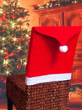 Load image into Gallery viewer, Colorblock Spliced Christmas Chair Cover