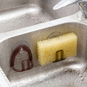 Sink Sucker Sponge Storage Rack