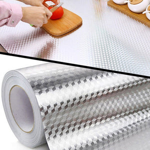 Self-adhesive Waterproof and Oil-proof Kitchen Sticker