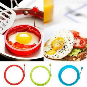 Creative Round Shape Silicone Omelette Mould