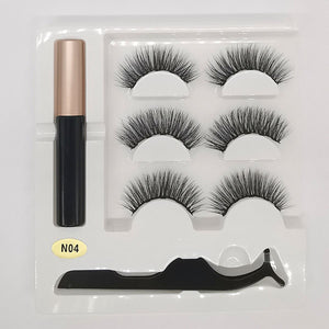 3 Pair Of False Eyelashes