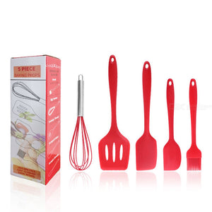 5pcs/set Silicone Cooking Tool