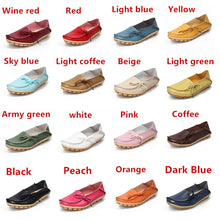 Load image into Gallery viewer, Women Flats Genuine Leather Shoes
