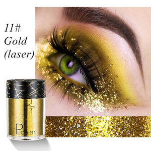 12 Colors Holographic Sequins Glitter Shimmer Diamond Eye Makeup