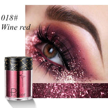 Load image into Gallery viewer, 12 Colors Holographic Sequins Glitter Shimmer Diamond Eye Makeup