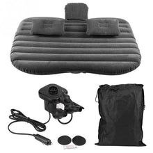 Load image into Gallery viewer, Inflatable Travel Car Mattress With Pillow/Pump