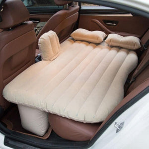 Inflatable Travel Car Mattress With Pillow/Pump