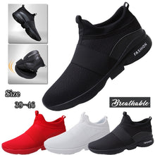 Load image into Gallery viewer, men athletic walking shoes mesh breathable