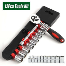 Load image into Gallery viewer, 12/46pcs Wrench Socket Set