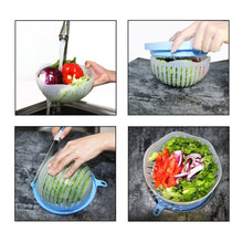 Load image into Gallery viewer, 60 Second Salad Cutter Bowl Kitchen Gadget
