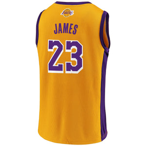 LeBron James Los Angeles Lakers - Gold