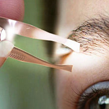 Load image into Gallery viewer, Stainless Steel Eyebrow Tweezer With LED Light