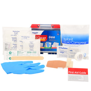 First Aid Kit, 85 Items, 2 Pack