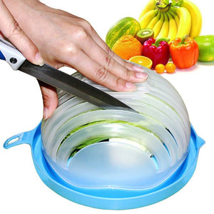 60 Second Salad Cutter Bowl Kitchen Gadget