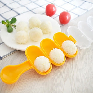 DIY Ball Shape Sushi Maker Mould Tool with Spoon
