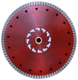 "RTC Products® 7"" Shield Thin Rimmed Turbo Diamond Blade"